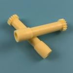 China CMD V4 Yellow Clamp Wincor Nixdorf ATM Parts Long 15T Gear 1750053977-6 Durable for sale