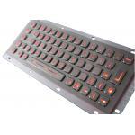 Stainless Steel Backlit USB Keyboard IP65 Industrial kiosk Keypad