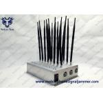 China Desktop Indoor High Power 8 Bands Adjustable Customized GPS 3G 4G All Cell phone Signal Jammer for sale