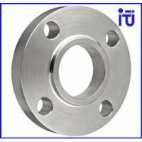Machining Forging Pipe Flange , Moulding Press Industrial Pipe Flange for sale