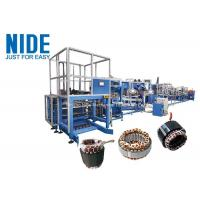 High Automation Motor Production Line Stator Winding Machine New Condition