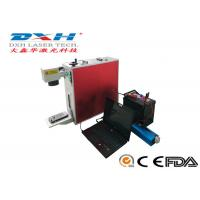 China Portable Laser Marking Machine , Mini Fiber Laser Marking Machine 20W 30W 50W for sale