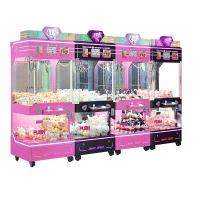 China Indoor Arcade Claw Machine , Pp Tiger 4 Standing Indoor Push Prize Toy Crane Doll Catcher Machine for sale