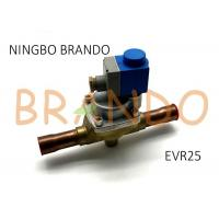 Danfoss Type 032L2205 EVR 25 Solder Connection Servo Operated Solenoid Valve With Coil Assembled for sale