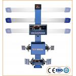 High efficiency Auto-trucking 3D Car Wheel Aligner With Double LCD