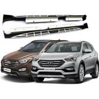 China OE Style Side Step Boards with Alloy Brackets for Hyundai Santafe 2013 2016 IX45 supplier