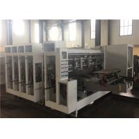 Corrugated Carton Flexo Printing And Die Cutting Machine for sale