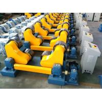 10 Tonne Self Aligning Rotator USE PU Material Wheels Wireless Control Linear Speed 100 to 1000 mm/min for sale