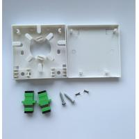 China Fiber Surface mount Unit Fiber Optic Termination Box with SC , LC Connectors Optical socket supplier
