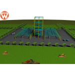Light Weight Auxiliary Equipment Steel Structure Building For Animal Feed Factory