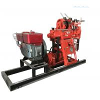 Borehole 200 Meters Soil Test Drilling Machine , Small Water Well Drilling Machine for sale