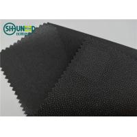 China Eco Friendly Drill Fusing Woven Interlining Broken Twill Weave For Garment for sale