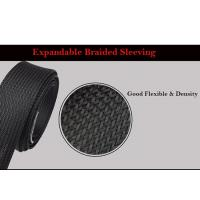 China Self - Extinguishing Heat Shrinkable Braided Sleeving Expandable Cable Harness for sale