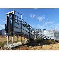 China 6 Metre Deluxe Cattle Loading Ramp Easily Construction CE Standard supplier