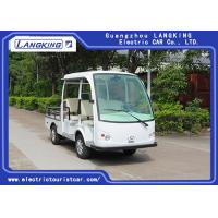 China 48V DC Motor Utility Cargo Vehicle / Electric Pick Up Truck 5 Seats for sale