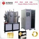 Zirconia Ceramic Ring Titanium Nitride Coating Equipment / Pvd Plating Process for sale