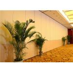 Bigger Hotel Movable Partition Wall Systems With Track And Wheels