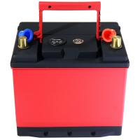 China High Performance LifeP04 46B24L/RS Lithium Iron Phosphate Car Battery Discharging 65Ah CCA 1200A for sale