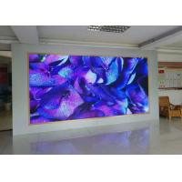 HD P1.6mm small space indoor led screen rental led wall full color led display