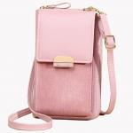 Magnetic Buckle PU One Shoulder Messenger Bag For Women for sale