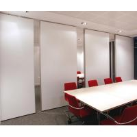 Conference Hall Soundproof Wooden Folding Movable Acoustic Partition Walls for Office for sale