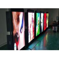 Outdoor Pole Led Screen Media Player Pixel Pitch 5mm Ip65 4G Asynchronization for sale