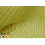 Yellowish Motorcycle Clothing Kevlar Aramid Fabric 0.3 Thickness for sale