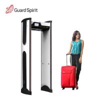 Super Sensitivity Archway Metal Detector Gate , Door Frame Metal Detector For Hotel Security for sale