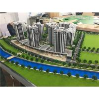 China LED Light Architectural Model Making Materials / 1/100 Scale Residential Physical Scale Maquette for sale