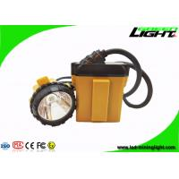 LED 10.4Ah SAMSUNG Battery Minig headlight 25000lux Aluminum lighting Cup IP68 for sale