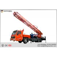 China Truck Mounted Rotary Turntable Water Well Drilling Rig - TDZQT350DR for sale