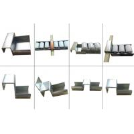 Steel Welded Heavy Duty Slide Tracks Connecting 60mm 85mm Placon Roller for sale