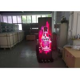 Indoor Standing alone Ultra Slim Full Color Digital Screen LED Poster Display for sale