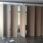 MDF Finish Folding Partition Walls For Room Division Easy To Operate for sale