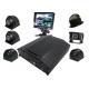 Black Box Kit 8 Channel Mobile DVR 4G AHD 720P Security Surveillance System for sale