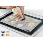 PTFE Non Toxic Baking Sheet BBQ Heat Proof Silicone Mat for sale