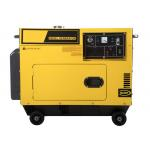 Silent Small Portable Diesel Generator with 4-stroke , air-cooled , single-cylinder engine for sale