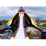 Cartoon Theme Giant Inflatable Slide With Three Lanes Silk - Screen Printing for sale
