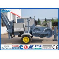 China 19T Electric Hydraulic Cable Puller Machine for High Voltage Transmission Line Stringing for sale