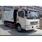 4cbm--6cbm Garbage Compactor Truck  Dongfeng Chassis 4x2 Q235 Carbon Steel Tank for sale