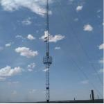 Single pipe tower antenna monopole communication tower