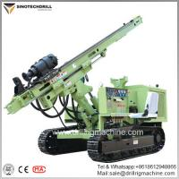 Crawler Hydraulic Solar Pile Driver With 20-100m Depth And 90-300mm Diameter for sale