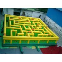 Inflatable Maze Games, Inflatable Tunnel Maze Game For Adults for sale