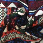Plain Printed Rayon Fabric 30 X 30 Yarn Count 68 X 60 Density 145cm Width for sale