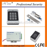 China New arrivals standalone access control system magnetic lock rfid access control with 12V power supply sets for sale