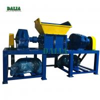 High Performance Smashing Metal Shredder Machine Slow Speed 500kg/h Capacity for sale