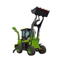 Powerful Compact Backhoe Loader 2.5 Ton Earth Moving Machinery for sale