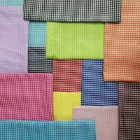 "Polyester Yarn Dyed Fabric For Student Uniform 100DX100D 100X70  57/58"" for sale"