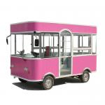 Commercial Mobile Food Cart Mobile Food Trailer 3 Wheels / 4 Wheels CE