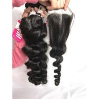 12 Inch 100% Brazilian Virgin Hair Unprocessed Cuticle Aligned Raw Loose Wave for sale